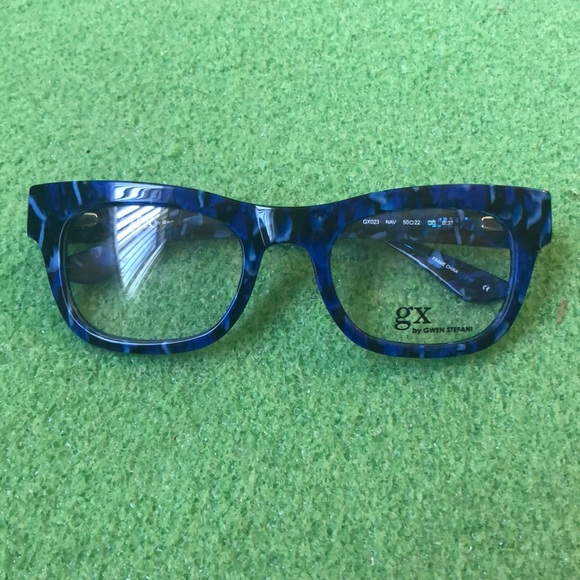 4acaecab583 GX by Gwen Stefani Accessories - GX BY GWEN STEFANI GX023 GLASSES IN BLUE!